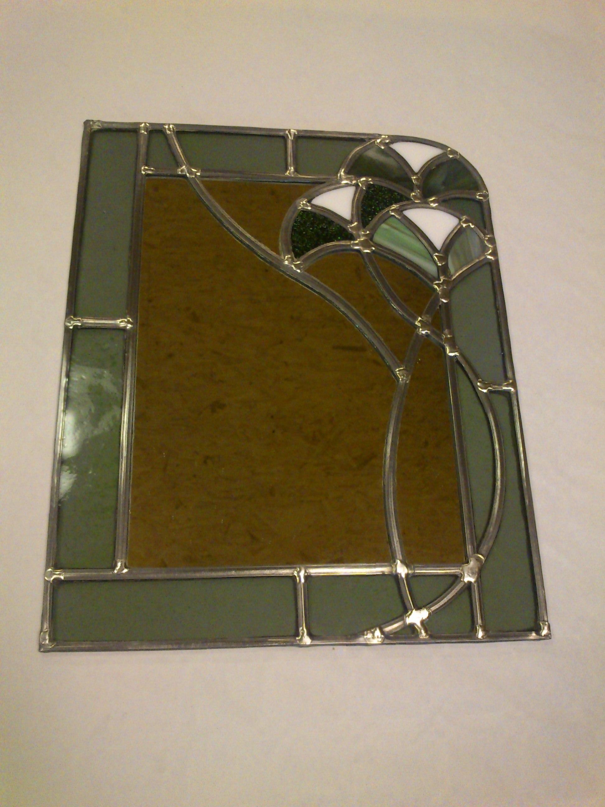 vitrail houquetot fusing miroir mini serre miroir 3d. Black Bedroom Furniture Sets. Home Design Ideas